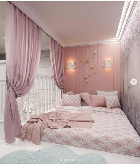 ديكورات غرف نوم صغيرة