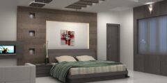 5 قواعد اساسية لاختيار ديكورات جبس غرف نوم