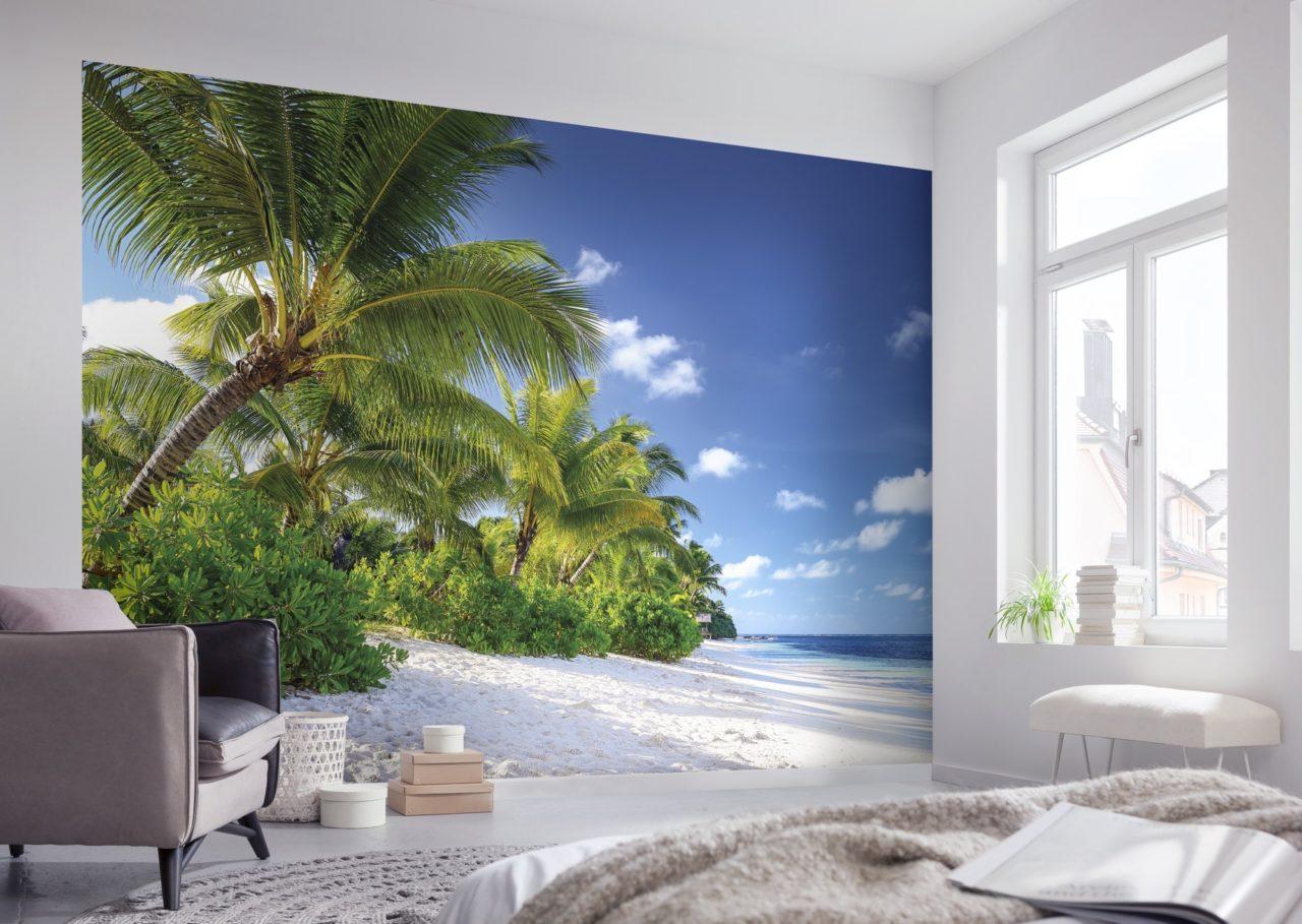 الاعتماد على ورق حائط بتصميم مودرن رائع