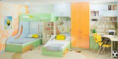 غرف نوم اطفال – 30 صورة من اروع تصميمات غرف الاطفال 2022