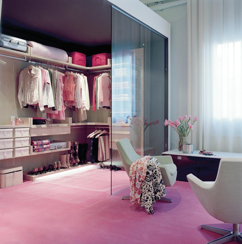 تصميم غرف نوم مع غرفة ملابس